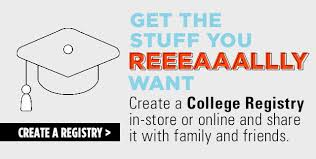 college registries college bed bath beyond