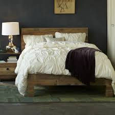 How To Make A Platform Bed Out Of Pallets - emmerson reclaimed wood bed natural west elm