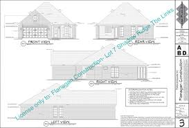 Contractor House Plans The Oaks House Plans Flanagan Construction