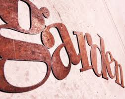 rustic metal wall letters new sizing 15 large