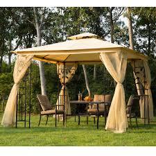 Patio Canopy Gazebo by New 3m X 3m Patio Garden Metal Gazebo Marquee Party Tent Canopy