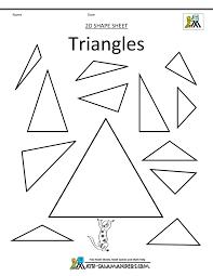 triangles worksheet worksheets