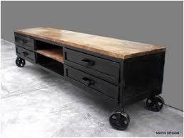 cuisine tv fr meuble tv industriel 180 amazon fr cuisine maison meuble