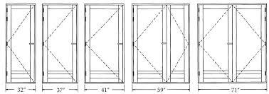 Standard Interior Door Size Standard Interior Door Sizes Door Ideas