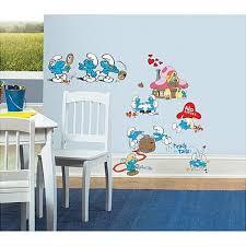 chambre b b cars kijiji schtroumpfs décoration murale neuve chambre bébé