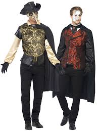 plague doctor halloween costume mens halloween masked vampire venetian masquerade ball fancy
