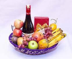 fruit basket all occasion fruit basket the petal florists