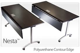 Global Boardroom Tables Nesta Flip Top Conference Tables Mobile Training Tables For