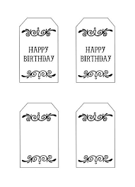 16 best birthday tags images on free printables