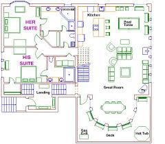 floor plans with two master bedrooms 95 his and hers master bathroom floor plans plan 20124ga house