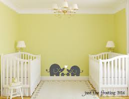 Elephant Wall Decal For Nursery by Wall Decals For Nursery Twins Color The Walls Of Your House