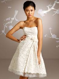 mini wedding dress of lace and bow ab 1337 357 50