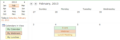 sharepoint u2013 color coding your calendar by category