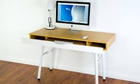 Small Desk With Pull Out Drawer Desk Groupon Goods Global Gmbh Stockholm Beech Desk With Pull