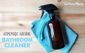 how to make natural bathroom cleaner natural bathroom cleaner recipe for deep cleaning disinfecting