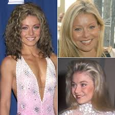 kelly ripa hair kelly ripa through the years pictures popsugar celebrity