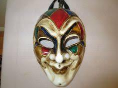 jesters mask ornate jester mask mardi gras theater drama by artsydivadesigns