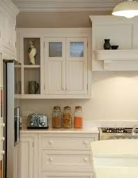 Open Shelf Kitchen by Painted Curved Shelf Detail On A Bespoke Kitchen Canopy And Open