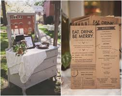 kraft paper wedding programs country rustic diy wedding rustic diy weddings wedding programs