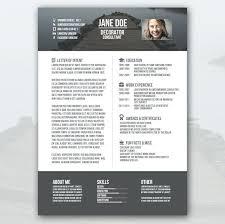 creative resume word template resume free creative resumes templates
