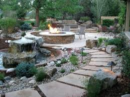 Rustic Landscaping Ideas For A Backyard Rustic Landscape Designs Paradise Landscaping Rustic