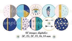 Cabochon Vorlagen Blau Digitale Downloads Cabochon Vorlagen Cabochon Bilder Blaue