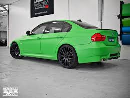 dark green bmw vehicle vinyl wrapping and car paint protection 10