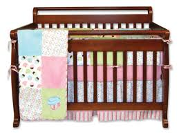 Cupcake Crib Bedding Set Baby Trend Lab Cupcake 4 Crib Bedding Set