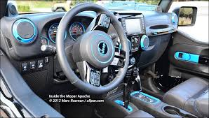 jeep wrangler 2012 interior 2012 jeep wrangler apache hemi wrangler concept car
