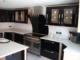 small kitchen furniture kitchen small kitchen design ideas shiny black interior