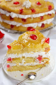 pineapple upside down cake recipe pineapple upside glaze and cake