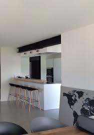 le cuisine moderne cuisine moderne ouverte avec ipn apparente projet de rénovation