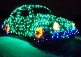 cool vw beetle christmas lighting decoration pics