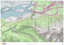 Alaska Route Map by Anchorage Ak Urban Backcountry Xc Skiing