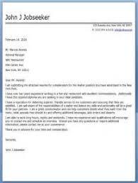 waiter cover letter sample 3 tips to write cover letter for hotel