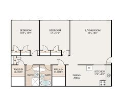 Walk In Closet Floor Plans Floor Plans Elizabeth Gardens Apartments For Rent In Elizabeth Nj