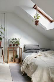 swedish country scandinavian cabin interior design attic bedroom in charming