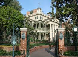 the haunted mansion at disneyland the enchanted manor