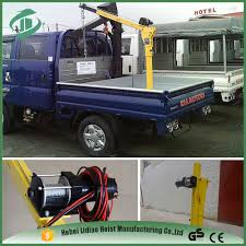 swivelling base small cranes for pickup trucks pick up truck bed