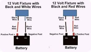12 Volt Dc Led Light Fixtures Basic 12 Volt Wiring How To Install A Led Light Fixture Cer