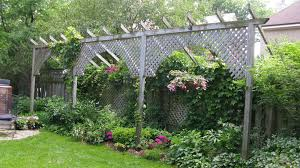 landscaping ideas backyard privacy fence privacy ideas 1