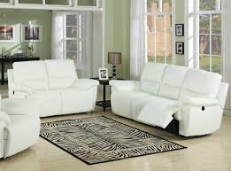 Zebra Side Table Awesome White Leather Living Room Set Using Reclining Upholstered