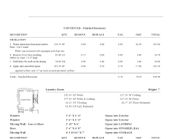 Roof Estimate Template by Restoration Estimates Restoration Estimates Restoration Estimates