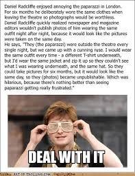 Daniel Radcliffe Meme - harry potter and the paparazzi trolling art of trolling troll
