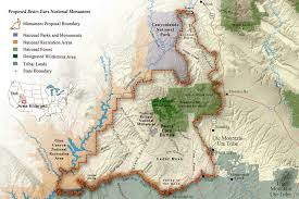 Navajo Reservation Map In Utah The Fight For A Bears Ears Monument Heats Up U2014 High