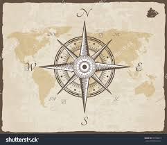 Old Map Background Old Map Compass Clipart Clipground