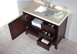ove decors velega 42 bathroom 42 inch vanity ensemble with marble
