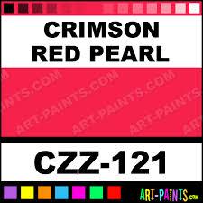 crimson red pearl carizzmatics airbrush spray paints czz 121