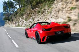 ferrari 458 back mansory enzos up the ferrari 458 spider w video
