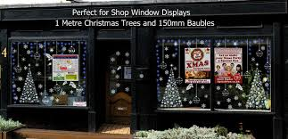 Christmas Decorations Window Displays by 1 Metre High Christmas Tree Window Decoration Christmas